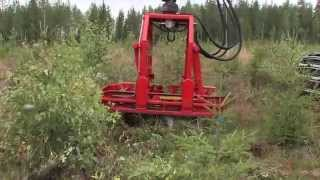 Naarva P25 uprooter for cleaning spruce and pine seedling stands - P25-perkaaja
