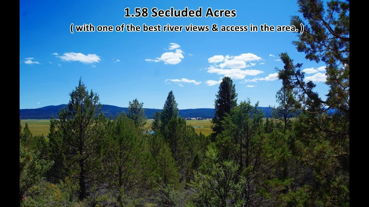 1½ Rural Acres in Klamath County, OR—300 Yards from the Sprague River!