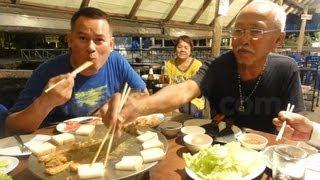 ร้านกล้วยน้ำว้า(eat food in trat province thailand)