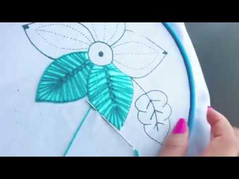 Bordado Fantasía Flor 10