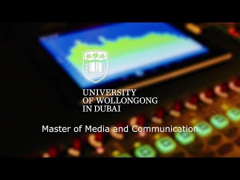 UOWD's Master of Media and Communications