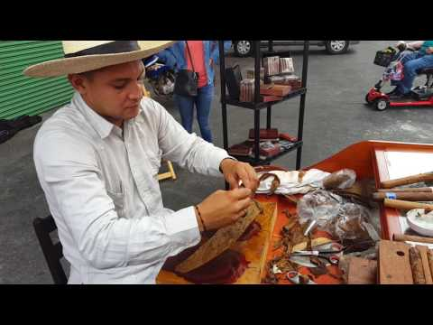 Man Rolling a Cigar in Corinto, Nicaragua (Part 2)