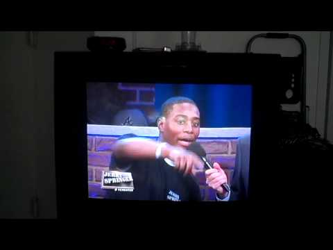 Marcus Banks On The Jerry Springer Show