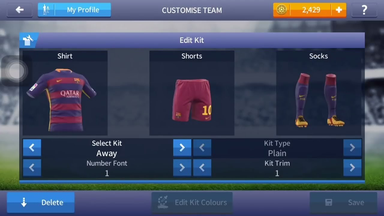factory authentic f924c 1dca5 How to change logo and kits in Dream league soccer 2017 , Logo and kits  Dream league soccer 2017,
