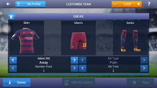 How to change logo and kits in  Dream league soccer 2017 , Logo and kits Dream league soccer 2017,