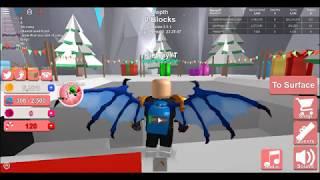 Mining Simulator | Gameplay + OP Ice Dragon Wings? | Roblox