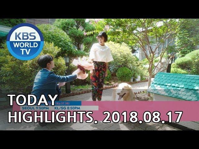 Today Highlights-K-RUSH 3/Sunny Again Tomorrow E69/Your House Helper E27-28[2018.08.17]