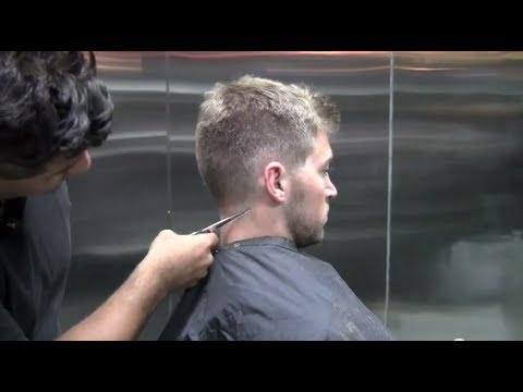 scissor over comb mens haircut how to fade a hair line amp how to scissor comb 3312 | hqdefault
