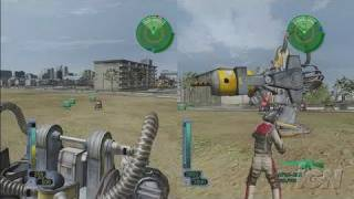 The Earth Defense Force 2017 Xbox 360 Gameplay - Vehicles