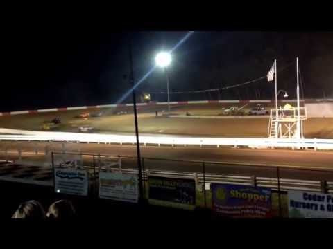 Coos bay speedway street stock main part 1 9-6-14