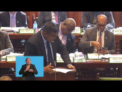Fijian Minister for Waterways, Ministerial Statement on surface water assessment