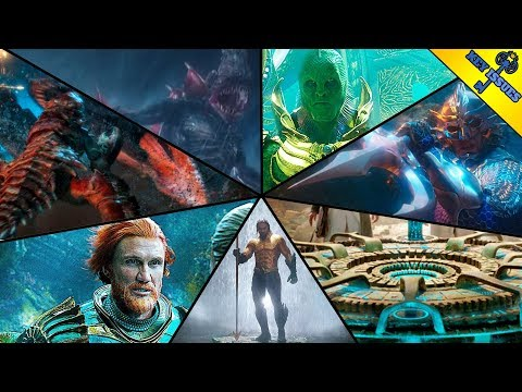 The Seven Kingdoms of Atlantis Explained | Aquaman