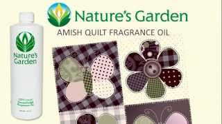 Amish Quilt Fragrance Oil- Natures Garden