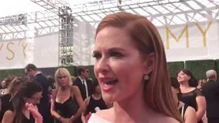 2018 Creative Arts Emmys: Sarah Drew chats leaving 'Grey's Anatomy' on red carpet