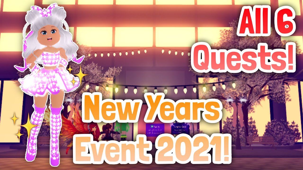 How To Complete All 6 Quests In New Years Event 2021 Royale High Update Tutorial Youtube I'm enjoying costume up with stylish out on royale excessive. how to complete all 6 quests in new years event 2021 royale high update tutorial