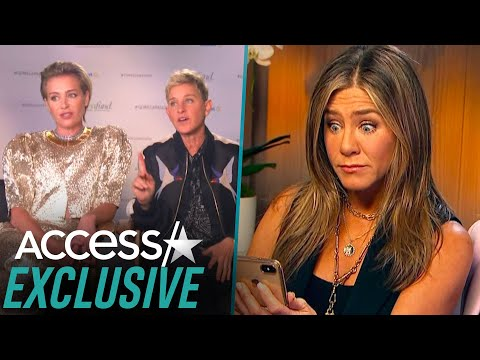 Jennifer Aniston Reacts To Ellen DeGeneres And Portia De Rossi Talking About Her 'Goddess Circle'