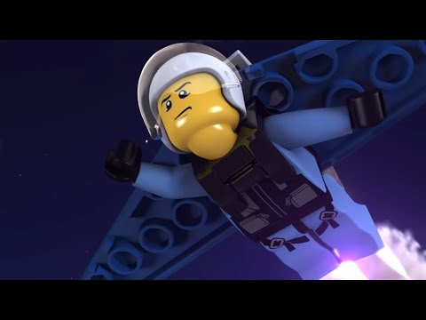LEGO City Sky Police and Fire Brigade  - FULL MINI MOVIE 201