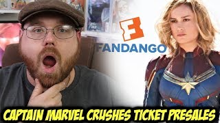 Captain Marvel Crushes Ticket Presales!!!
