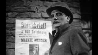 Die Moritat von Mackie Messer (Die Dreigroschenoper),  Kurt Weill - Bertolt Brecht (Lotte Lenya)