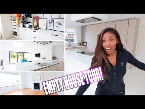 MY NEW HOUSE - EMPTY HOUSE TOUR  - PATRICIA BRIGHT