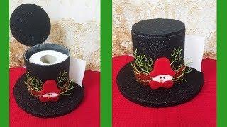 Decoración Navideña 2019 - Christmas Decorations ideas - Porta Papel Higiénico