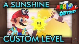 A Fantastic Mario Sunshine Inspired Custom Level - Super Mario Odyssey Maker