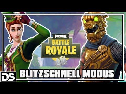 Fortnite Battle Royale Deutsch - NEUER MODUS Blitzschnell (Fortnite Gameplay German)
