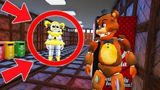CAN WITHERED FREDDY HIDE FROM GOLDEN BABY AT SCHOOL? (GTA 5 Mods For Kids FNAF Funny Moments)