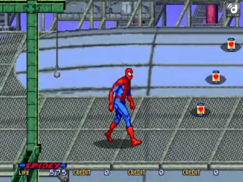 MAME Spider-Man: The Videogame (No Deaths, Part 1)