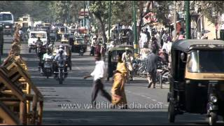 Busy roads of Mysore - Karnataka