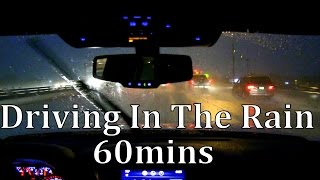 "Driving in the Rain 60mins ""Sleep Sounds"""