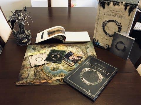 The Elder Scrolls Online Summerset Collector's Edition Guide
