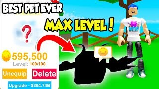 THIS Is The Most OVERPOWERED PET in PET RANCH SIMULATOR!! *MAX LEVEL* (Roblox)
