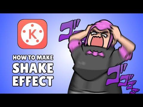 How to make Shake Effect on KineMaster