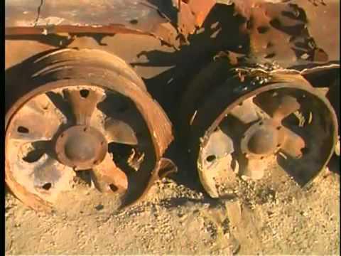 Кладбище советской бронетехники в Афганистане
