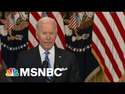 'Go Bigger': Progressives Urge Biden To Spend Political Capital Now