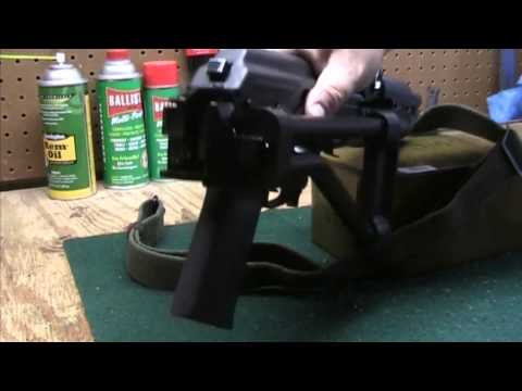 BoneSteel Arms Folding Stock Up-close - YouTube