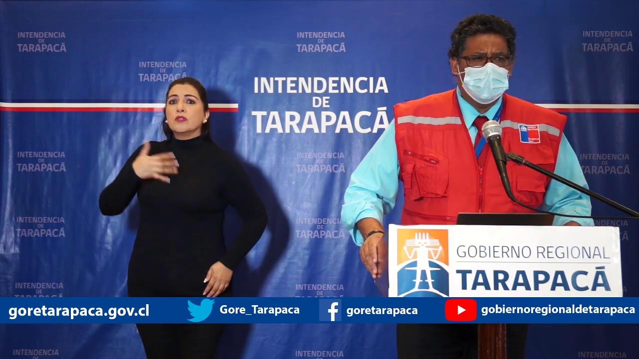 Punto de prensa 28 de julio de 2020 - Gobierno Regional de Tarapacá