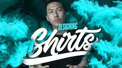 The Easy Way To Create T-Shirt Designs - Canva and Adobe Illustrator - Text Based Designs - POD Etsy