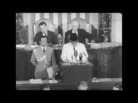 Pidato Bung Karno di PBB 30 September 1960 ; Kutip Al Quran & Jelaskan Pancasila yang Getarkan Dunia