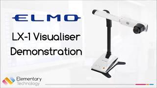 Elmo LX-1 Visualiser Demonstratie