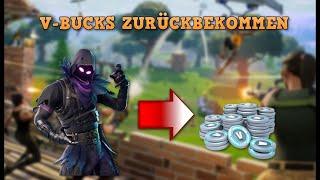 V Bucks FREE RETURN / Refund in Fortnite