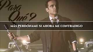 Leo José - ¿Para qué? LETRA Hecho por Ana Pérez