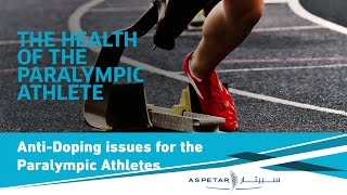 Anti-Doping Issues for the Para-Athlete - Nicki Vance