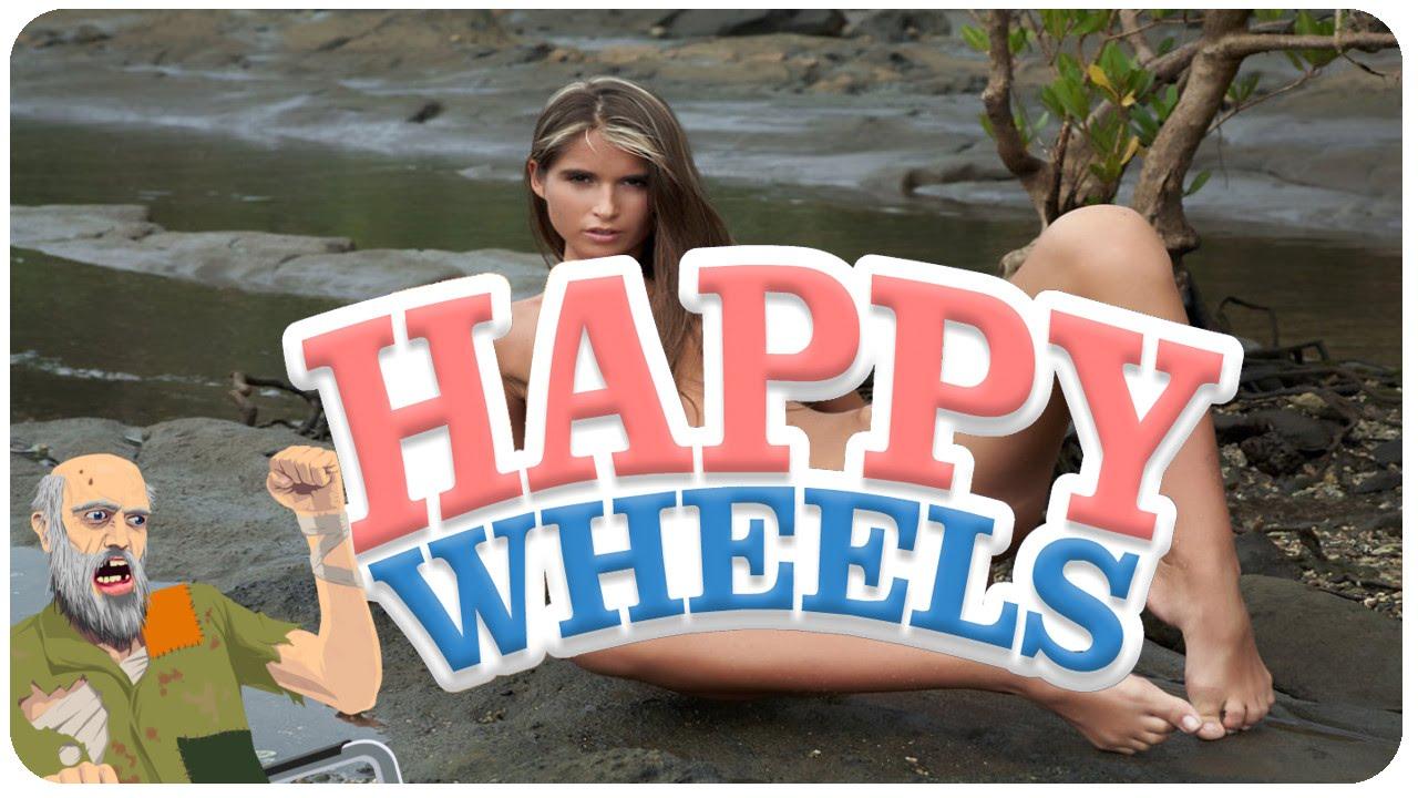 NAKED GIRL GLITCH - Happy Wheels #3 - YouTube