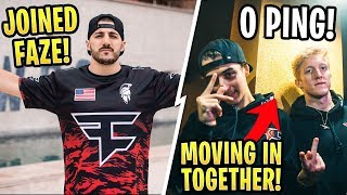 Tfue, Corinna, and Cloakzy MOVE IN Together! Nickmercs Joins FaZe Clan!