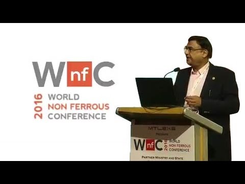 Presentation on MSME Funding at World Non Ferrous Conference 2016