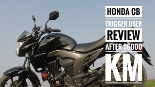 Honda CB Trigger User Review After 26000 KM Ride In Bangla By Rashedul Islam