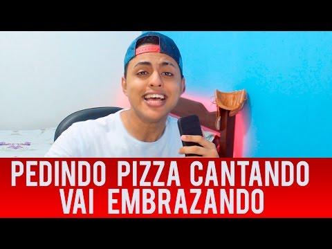 PEDINDO PIZZA CANTANDO MC ZAAC PART. MC VIGARY - VAI EMBRAZANDO