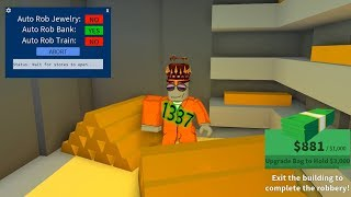 How To AFK Rob Roblox Jailbreak | 2018 Unlimited Money Script